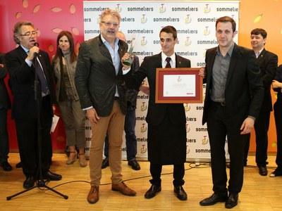 El leridano Toni Lara se proclama Mejor Sommelier de Catalunya 2013