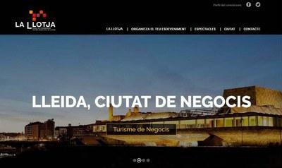 El Palacio de Congresos - La Llotja de Lleida estrena nueva web y renueva su imagen corporativa