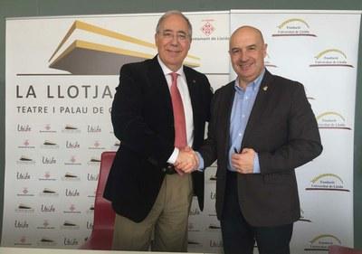 La Lonja acogerá congresos de la Fundación de la Universidad de Lleida