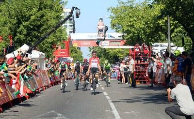Lleida acoge la llegada de la Vuelta Ciclista a España, con un impacto muy positivo para la ciudad