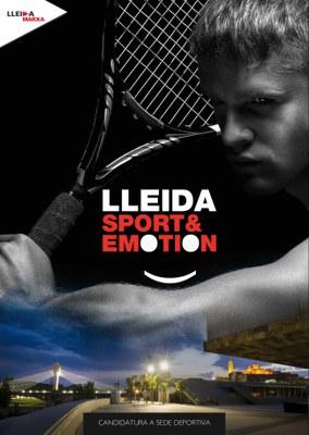 Lleida presenta el programa Sport&Emotion a las principales Federaciones y Organizaciones Deportivas del Estado
