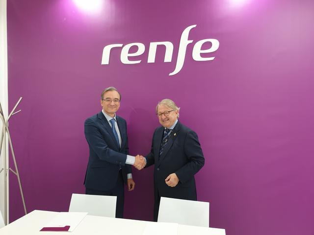 Acord entre la Paeria i Renfe Viajeros per a la promoció de la ciutat de Lleida com a destinació turística i congressual