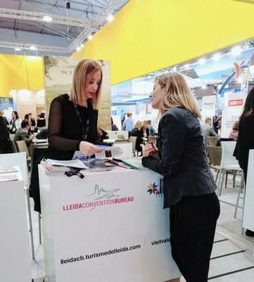L'oferta del Lleida Convention Bureau present a la Fira internacional IBTM