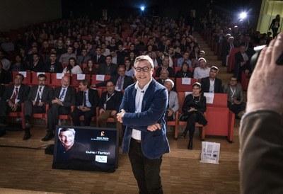 El reconegut xef Joan Roca tanca el Pirineus Gourmet amb una conferència a La Llotja