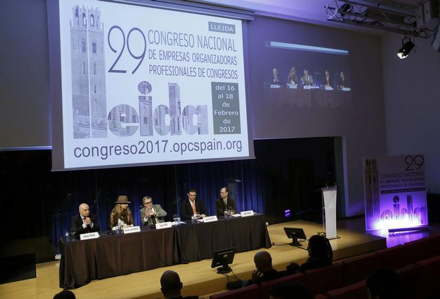 L'alcalde Ros diu que Lleida és un lloc privilegiat per acollir turisme de congressos i negocis